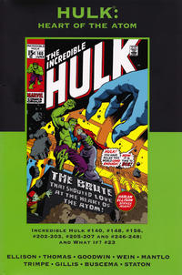 Cover Thumbnail for Marvel Premiere Classic (Marvel, 2006 series) #15 - Hulk: Heart of the Atom [Direct]