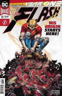 Cover Thumbnail for The Flash (DC, 2016 series) #70 [Howard Porter Cover]