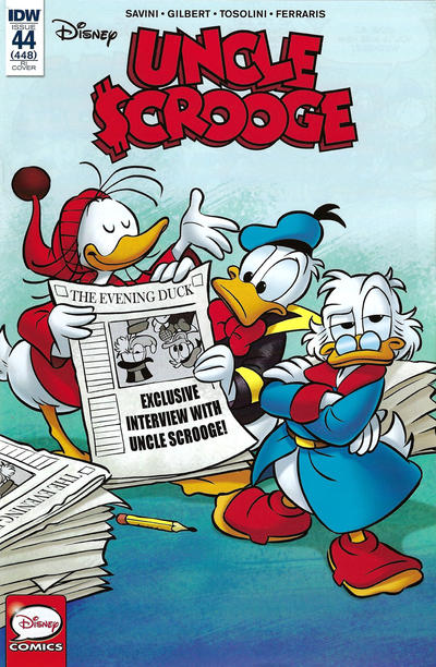 Cover for Uncle Scrooge (IDW, 2015 series) #44 / 448 [Retailer Incentive Cover - Alessandro Perina]