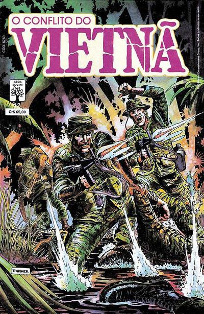 Cover for O Conflito do Vietnã (Editora Abril, 1988 series) #12