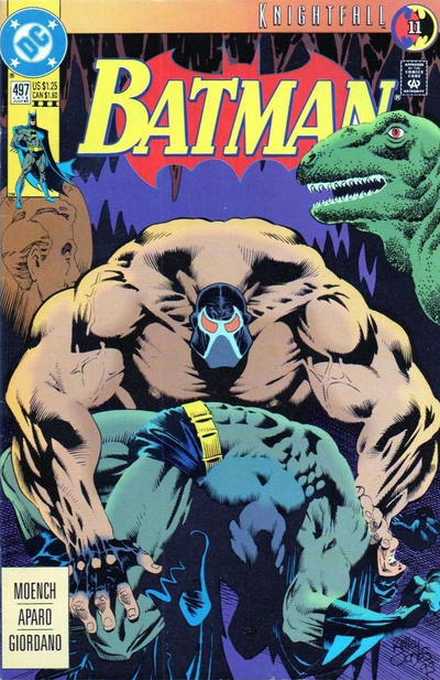 Cover for Batman (DC, 1940 series) #497 [Direct]