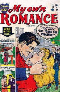Cover Thumbnail for My Own Romance (Marvel, 1949 series) #19