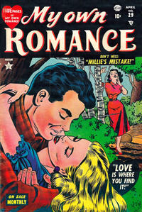 Cover Thumbnail for My Own Romance (Marvel, 1949 series) #29