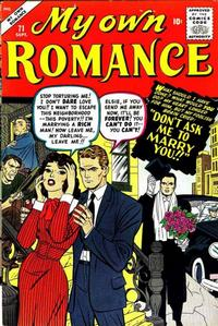 Cover Thumbnail for My Own Romance (Marvel, 1949 series) #71