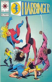 Cover Thumbnail for Harbinger (Acclaim / Valiant, 1992 series) #28
