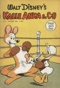 Cover Thumbnail for Kalle Anka & C:o (Richters Förlag AB, 1948 series) #2/1948