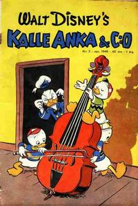 Cover Thumbnail for Kalle Anka & C:o (Richters Förlag AB, 1948 series) #3/1948