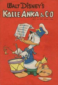 Cover Thumbnail for Kalle Anka & C:o (Richters Förlag AB, 1948 series) #1/1949