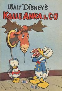 Cover Thumbnail for Kalle Anka & C:o (Richters Förlag AB, 1948 series) #2/1949