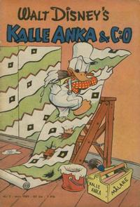 Cover Thumbnail for Kalle Anka & C:o (Richters Förlag AB, 1948 series) #3/1949