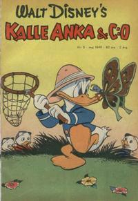 Cover Thumbnail for Kalle Anka & C:o (Richters Förlag AB, 1948 series) #5/1949