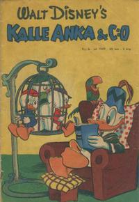 Cover Thumbnail for Kalle Anka & C:o (Richters Förlag AB, 1948 series) #7/1949