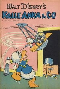 Cover Thumbnail for Kalle Anka & C:o (Richters Förlag AB, 1948 series) #10/1949