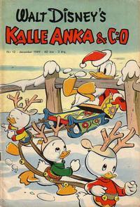 Cover Thumbnail for Kalle Anka & C:o (Richters Förlag AB, 1948 series) #12/1949