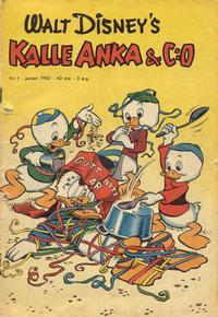 Cover Thumbnail for Kalle Anka & C:o (Richters Förlag AB, 1948 series) #1/1950
