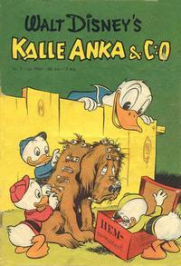 Cover Thumbnail for Kalle Anka & C:o (Richters Förlag AB, 1948 series) #7/1950