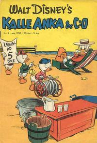 Cover Thumbnail for Kalle Anka & C:o (Richters Förlag AB, 1948 series) #8/1950