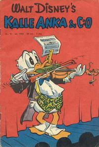 Cover Thumbnail for Kalle Anka & C:o (Richters Förlag AB, 1948 series) #10/1950