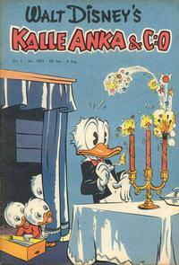 Cover for Kalle Anka & C:o (Richters Förlag AB, 1948 series) #1/1951