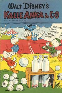Cover Thumbnail for Kalle Anka & C:o (Richters Förlag AB, 1948 series) #5/1951