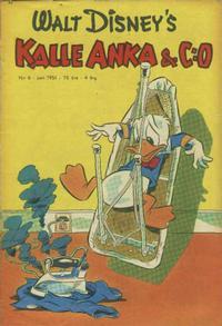 Cover Thumbnail for Kalle Anka & C:o (Richters Förlag AB, 1948 series) #6/1951