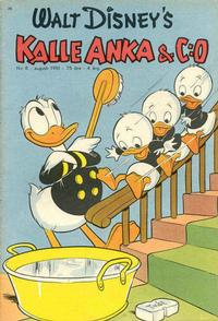 Cover Thumbnail for Kalle Anka & C:o (Richters Förlag AB, 1948 series) #8/1951