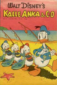 Cover Thumbnail for Kalle Anka & C:o (Richters Förlag AB, 1948 series) #11/1951