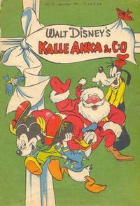 Cover Thumbnail for Kalle Anka & C:o (Richters Förlag AB, 1948 series) #12/1951