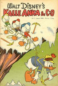 Cover Thumbnail for Kalle Anka & C:o (Richters Förlag AB, 1948 series) #1/1952