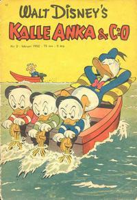 Cover Thumbnail for Kalle Anka & C:o (Richters Förlag AB, 1948 series) #2/1952