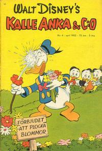 Cover Thumbnail for Kalle Anka & C:o (Richters Förlag AB, 1948 series) #4/1952