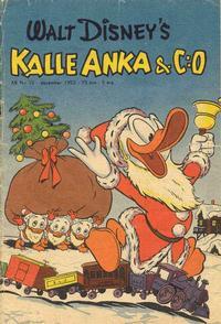 Cover Thumbnail for Kalle Anka & C:o (Richters Förlag AB, 1948 series) #12/1952