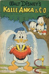 Cover Thumbnail for Kalle Anka & C:o (Richters Förlag AB, 1948 series) #3/1953