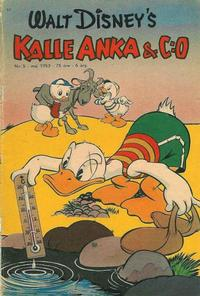 Cover Thumbnail for Kalle Anka & C:o (Richters Förlag AB, 1948 series) #5/1953