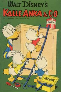 Cover Thumbnail for Kalle Anka & C:o (Richters Förlag AB, 1948 series) #9/1953