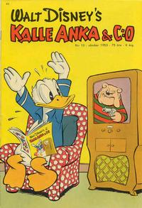 Cover Thumbnail for Kalle Anka & C:o (Richters Förlag AB, 1948 series) #10/1953