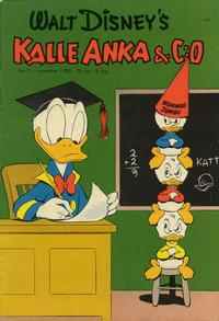 Cover Thumbnail for Kalle Anka & C:o (Richters Förlag AB, 1948 series) #11/1953