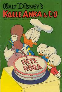 Cover Thumbnail for Kalle Anka & C:o (Richters Förlag AB, 1948 series) #2A/1954