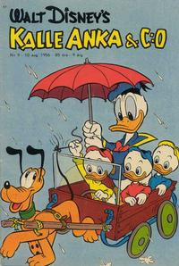 Cover Thumbnail for Kalle Anka & C:o (Richters Förlag AB, 1948 series) #9/1956