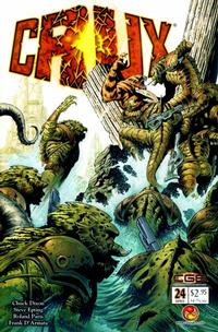 Cover Thumbnail for Crux (CrossGen, 2001 series) #24