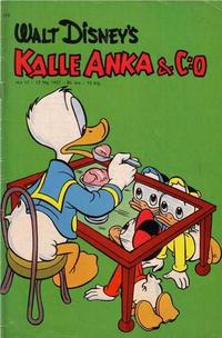 Cover Thumbnail for Kalle Anka & C:o (Richters Förlag AB, 1948 series) #11/1957