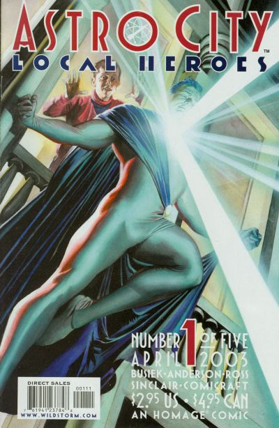 Cover for Astro City: Local Heroes (DC, 2003 series) #1