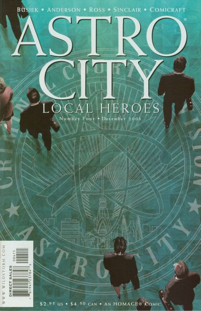 Cover for Astro City: Local Heroes (DC, 2003 series) #4
