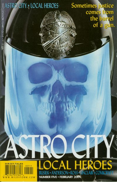 Cover for Astro City: Local Heroes (DC, 2003 series) #5