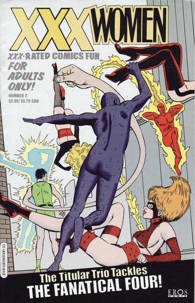 Cover for XXX Women (Fantagraphics, 1993 series) #2