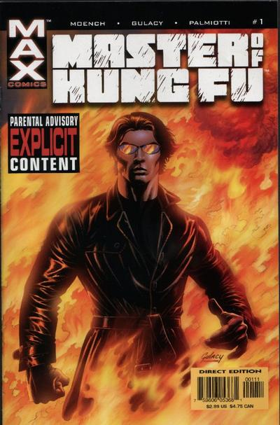 Cover for Shang-Chi: Master of Kung Fu (Marvel, 2002 series) #1