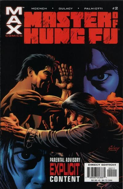Cover for Shang-Chi: Master of Kung Fu (Marvel, 2002 series) #2