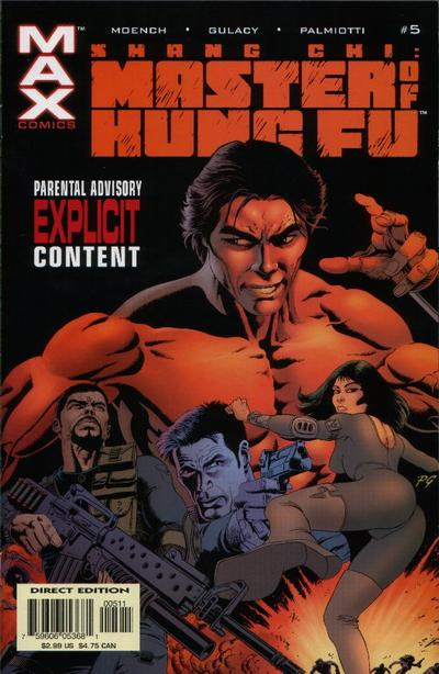 Cover for Shang-Chi: Master of Kung Fu (Marvel, 2002 series) #5