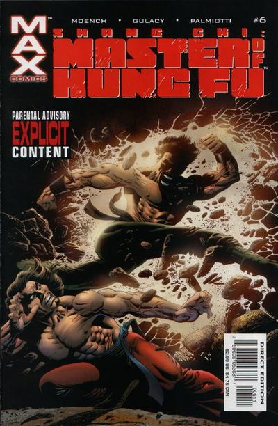 Cover for Shang-Chi: Master of Kung Fu (Marvel, 2002 series) #6