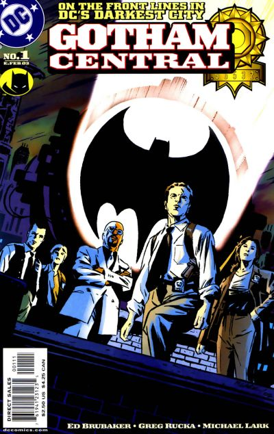Cover for Gotham Central (DC, 2003 series) #1